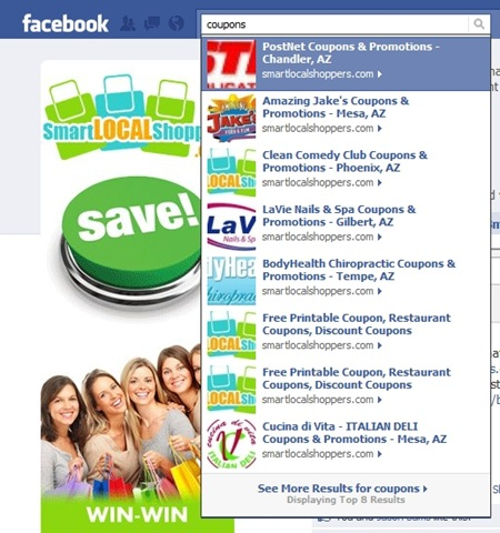 Facebook Social Search Success