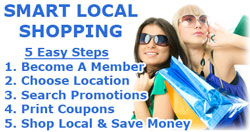 Save Money! Shop Local